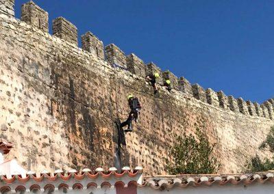 Manutenção e conservação e restauro da Muralha de Óbidos